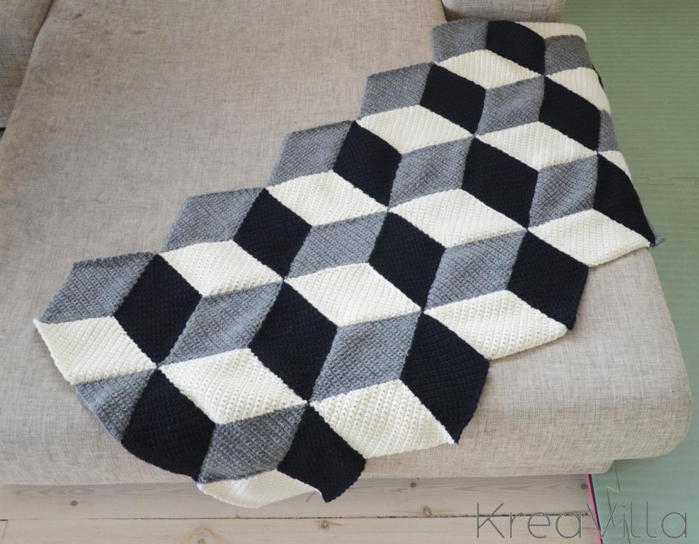 3d Crochet Blanket Kreavilla